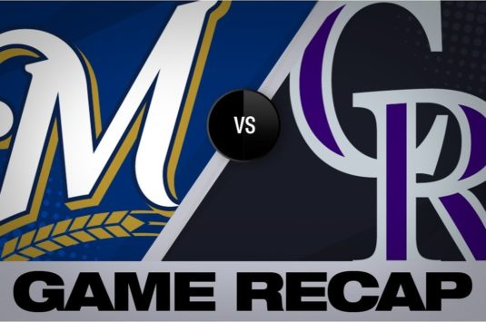 Match Baseball complet: Rockies vs Brewers 2018